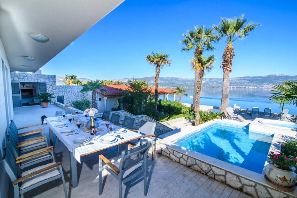 Palm Tree Villa, Slatine, Ciovo, Trogir, Split Riviera (84)