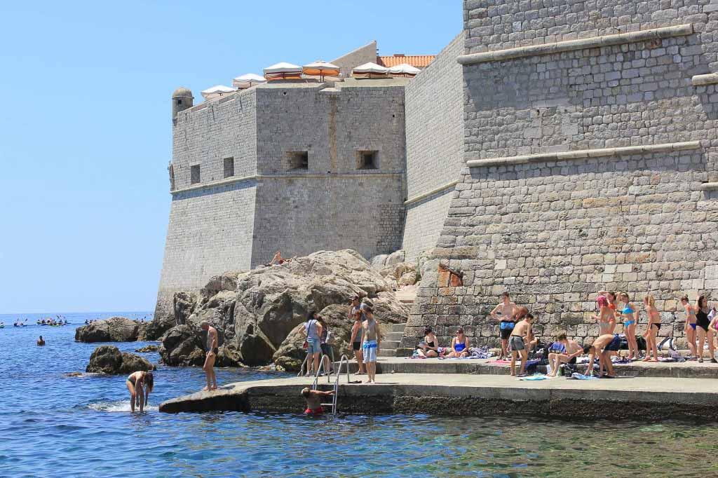 Porporela Old Town Beach, Dubrovnik (14)