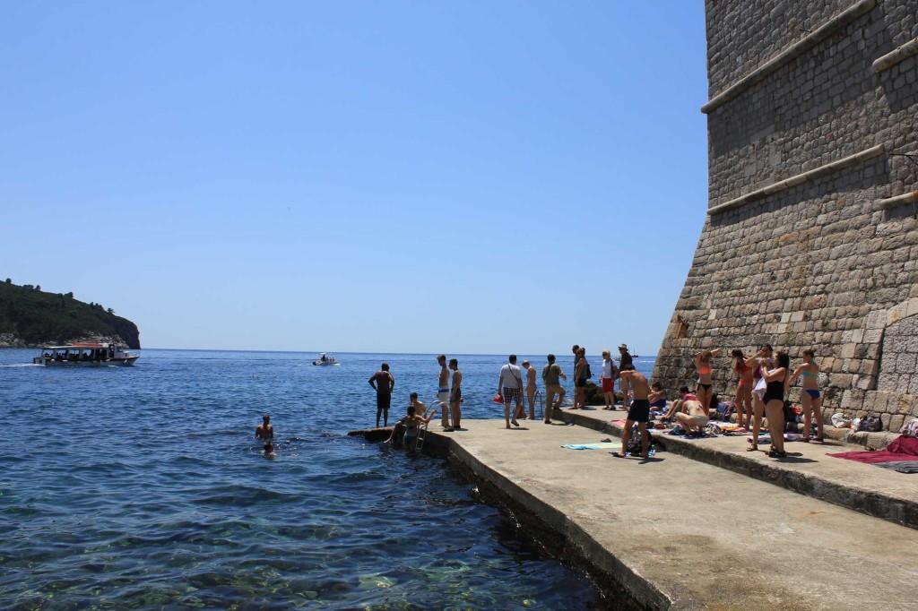 Porporela Old Town Beach, Dubrovnik (15)