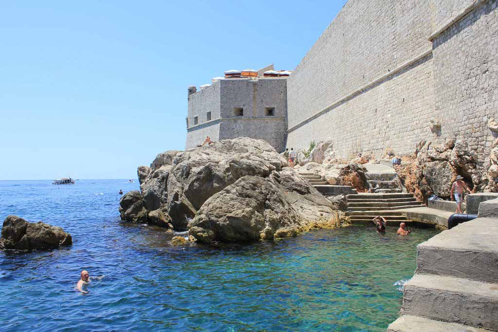 Porporela Old Town Beach, Dubrovnik (18)