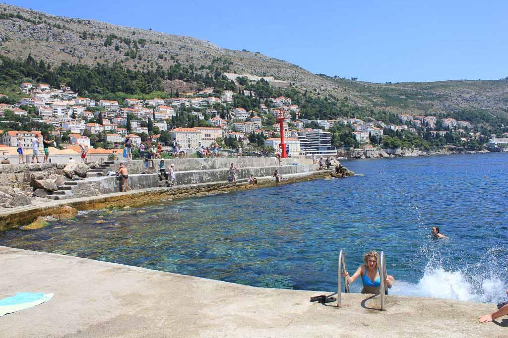 Porporela Old Town Beach, Dubrovnik (4)
