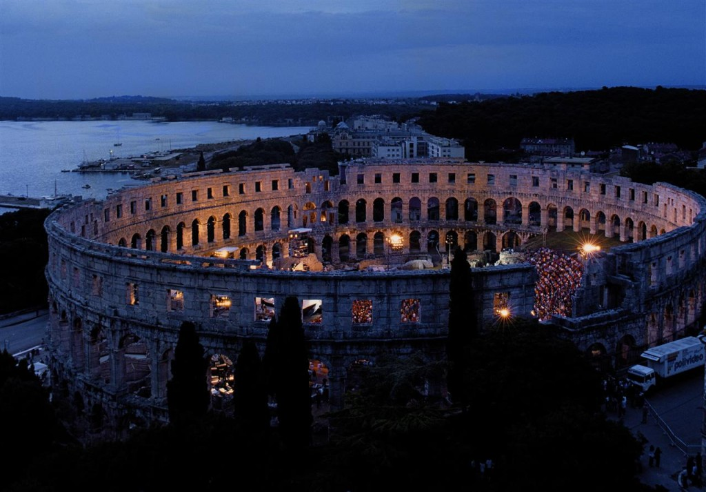 Pula by Renco Kosinozic via Croatian National Tourist Board