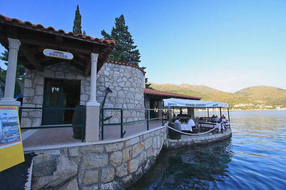 Restaurant Ankora, Zaton Bay, Dubrovnik Riviera 2