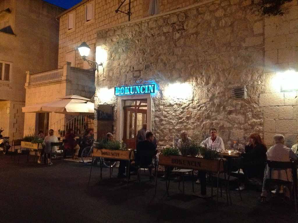 Restaurant Konoba Bokuncin Croatia Gems