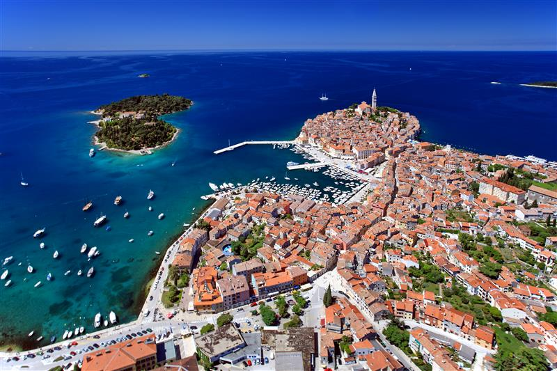 Rovinj Panorama by Boris Kacanvia Croatian National Tourist Board