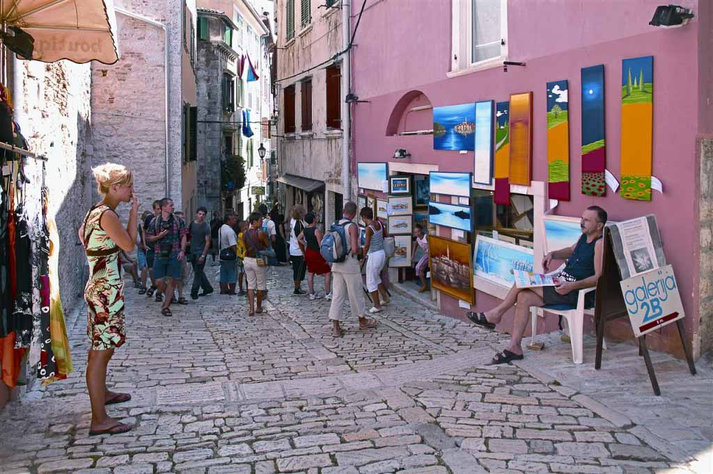 Rovinj by Sergio Gobbo via Croatian National Tourist Board