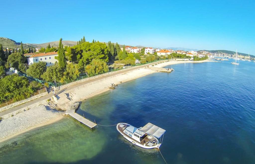 Seget Donji, Trogir, Split Riviera (6) Aerial