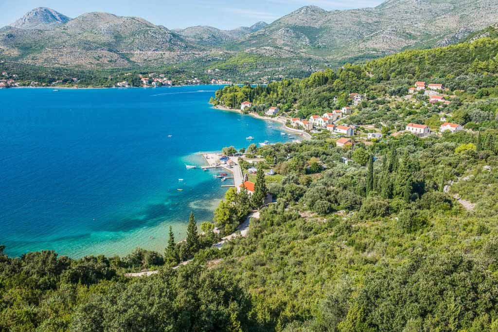 Slano Bay, Dubrovnik Riviera (12) Aerial
