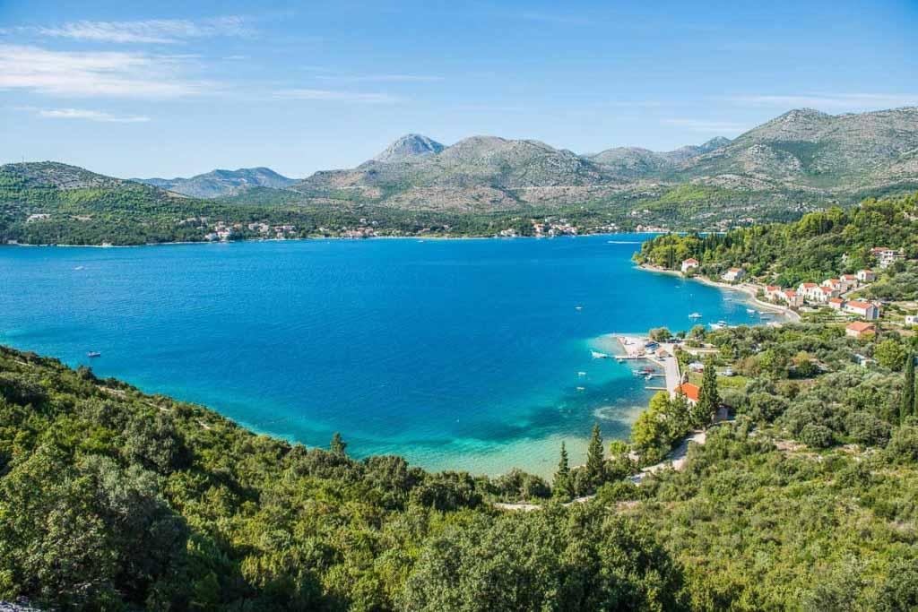Slano Bay, Dubrovnik Riviera (13) Aerial