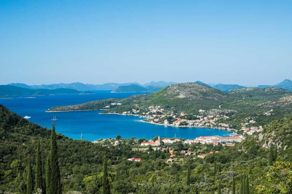Slano Bay, Dubrovnik Riviera (7) Aerial