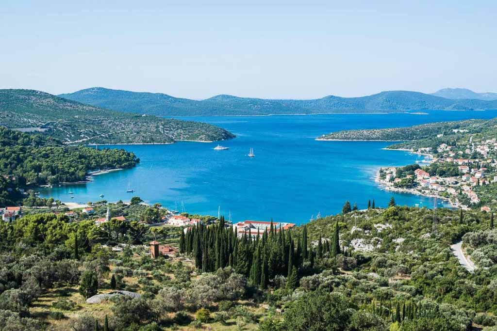 Slano Bay, Dubrovnik Riviera (8) Aerial