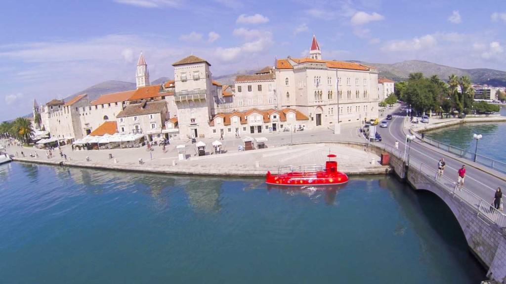 Trogir Old Town, Split Riviera (10) Aerial