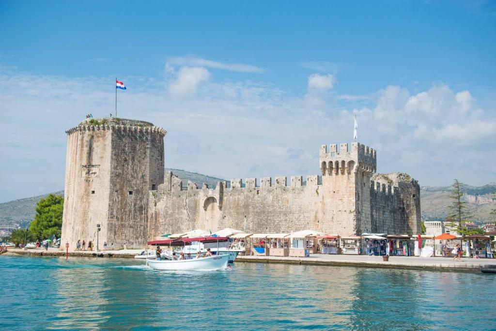 Trogir Old Town, Split Riviera (2) Aerial