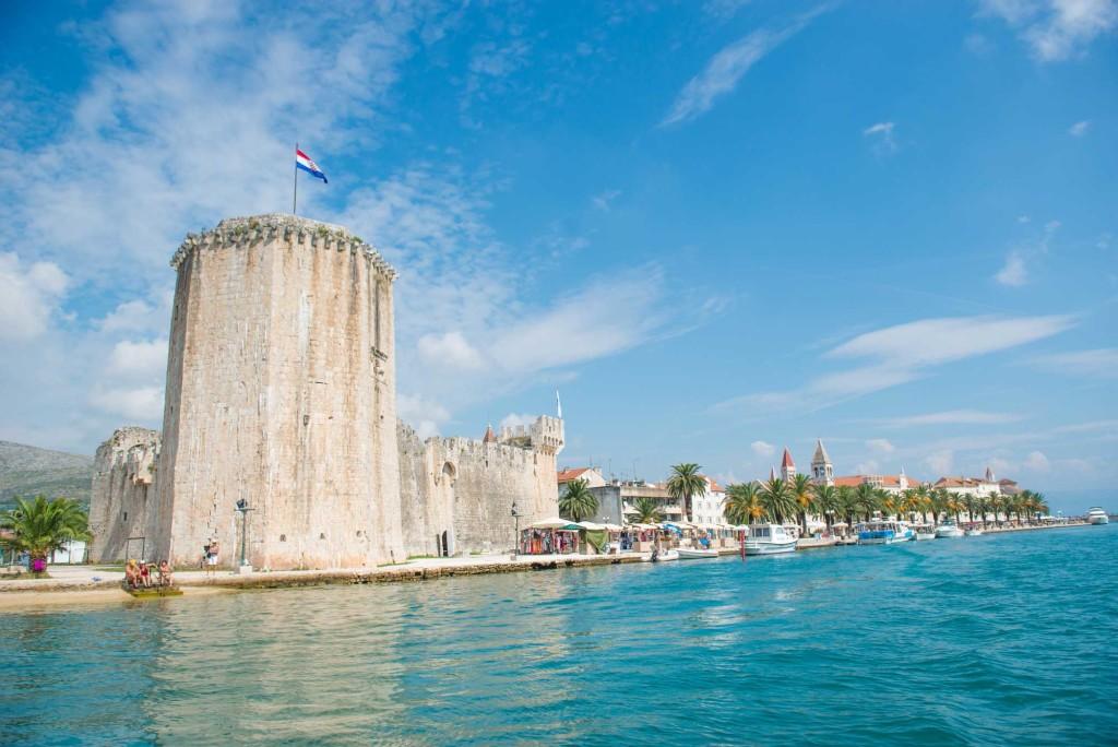 Trogir Old Town, Split Riviera (4) Aerial