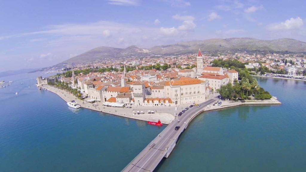 Trogir Old Town, Split Riviera (6) Aerial