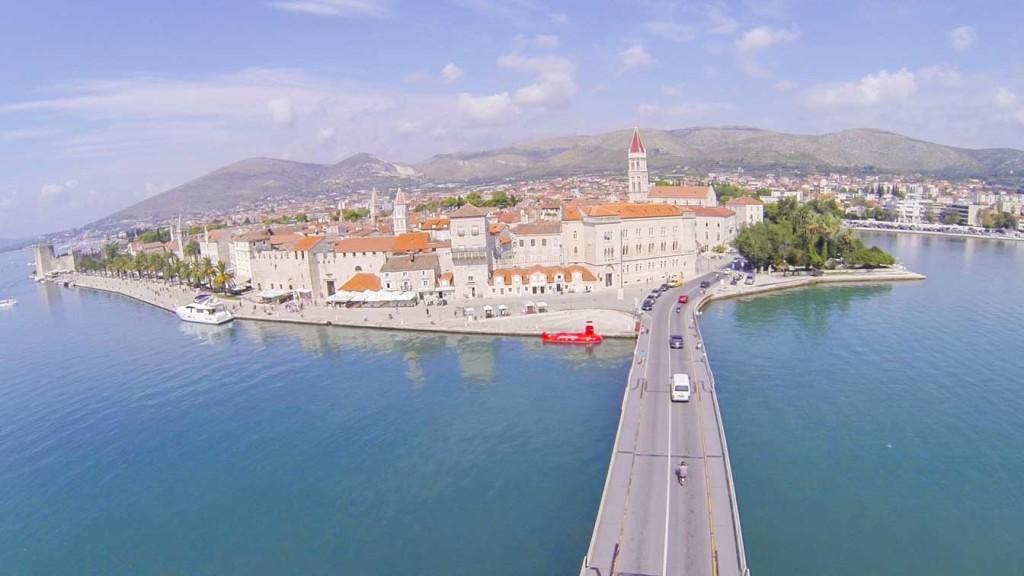 Trogir Old Town, Split Riviera (7) Aerial