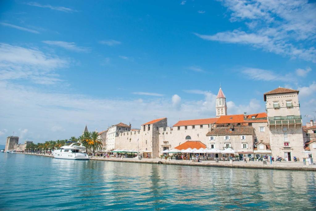 Trogir Old Town, Split Riviera (9) Aerial