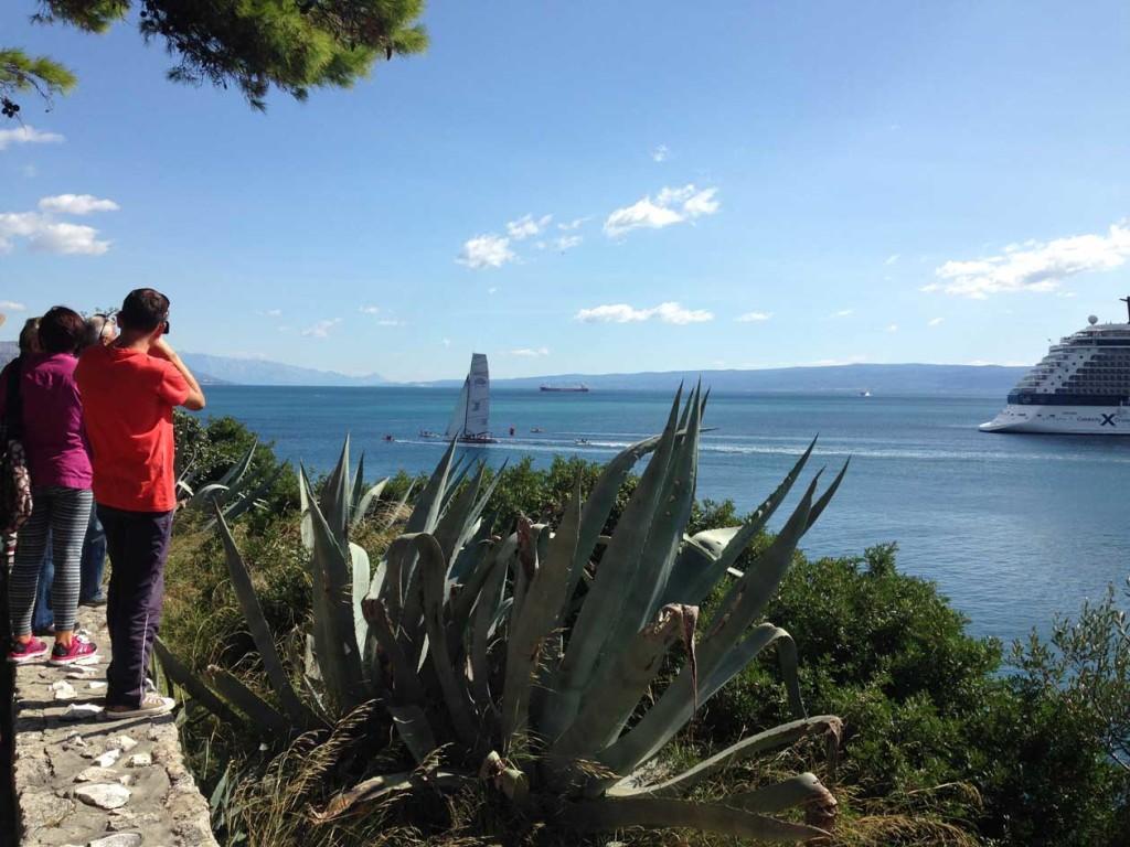 View from Sustjepan Park, Split