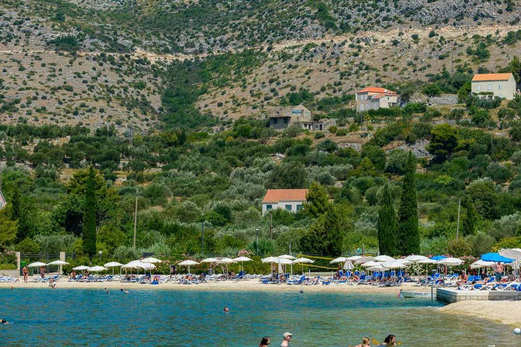 Villa Farmhouse, Slano Bay, Dubrovnik Riviera (21) Aerial