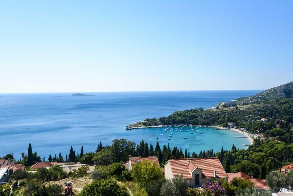 Villa-Lanterna,-Mlini-Bay,-Dubrovnik-Riviera