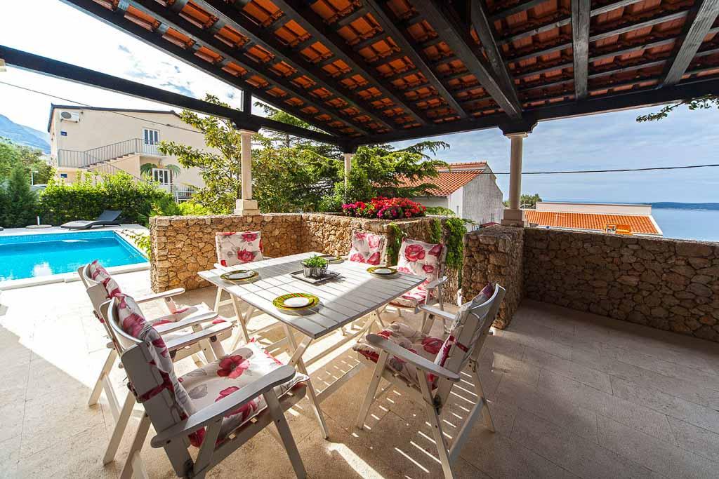 Villa Silvia, Baska Voda, Makarska Riviera (2)