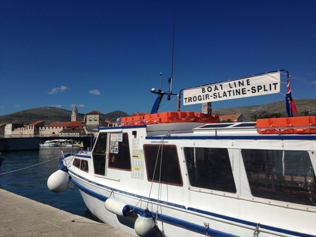 Water Taxi to Slatine & Split, Trogir Old Town (5)
