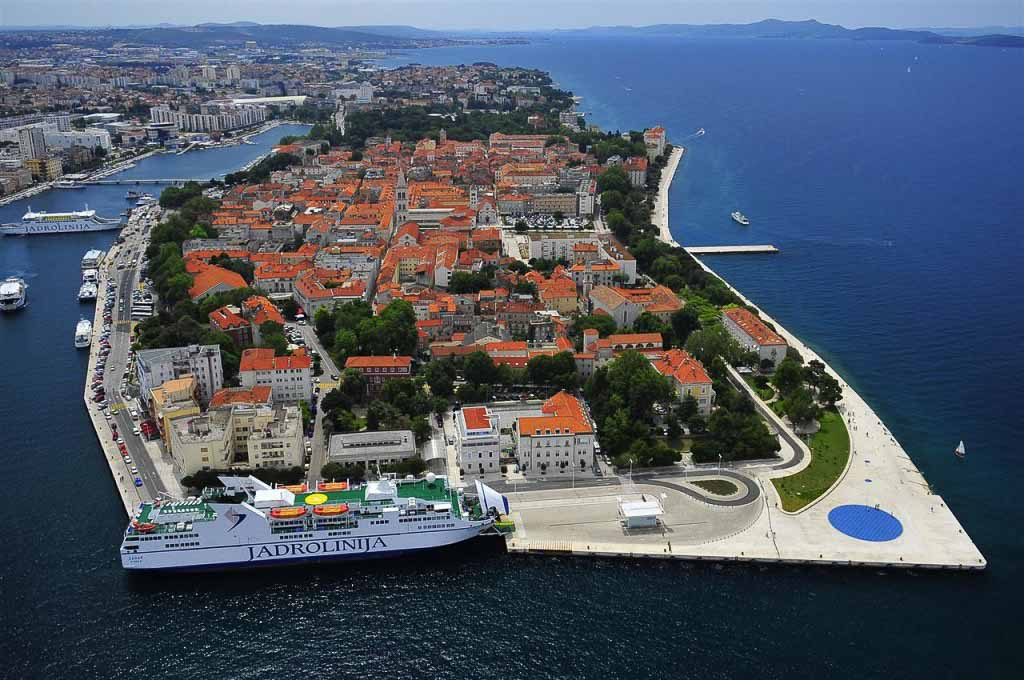 Zadar by Ivo Pervan via Croatian National Tourist Board