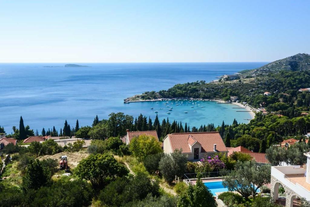 Villa Ivana, Mlini Bay, Dubrovnik Riviera (2) Aerial