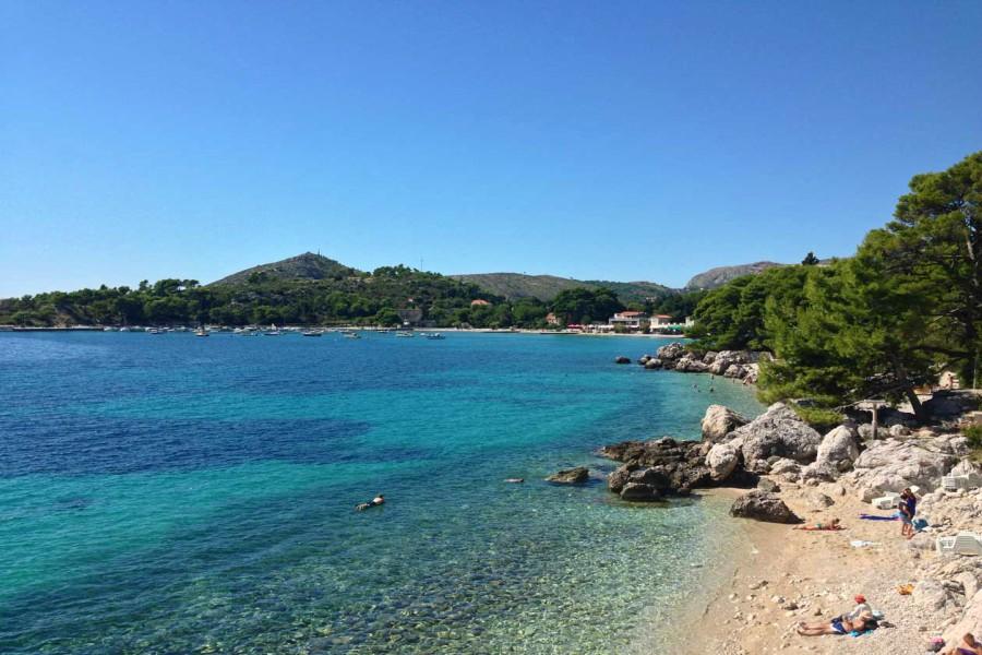 Mlini Bay Beach
