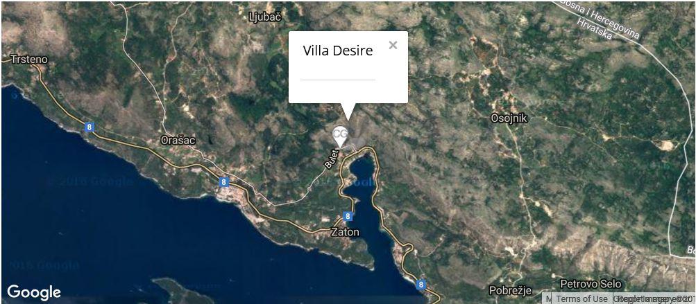 Villa Desire, Zaton Bay, Dubrovnik Riviera