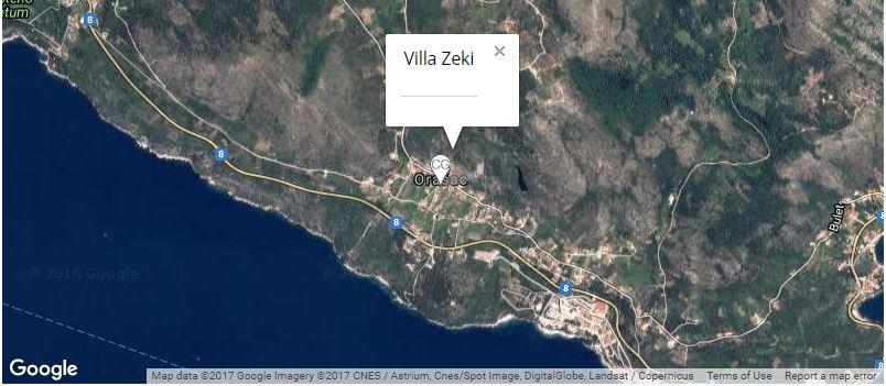 villa-zeki-map-orasac-coast-dubrovnik-riviera
