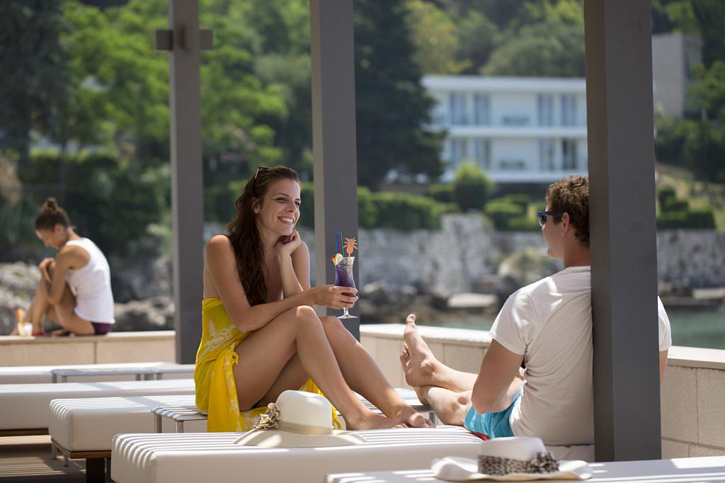 Oleander Restaurant & Beach Bar, Mlini Bay, Dubrovnik Riviera (6)