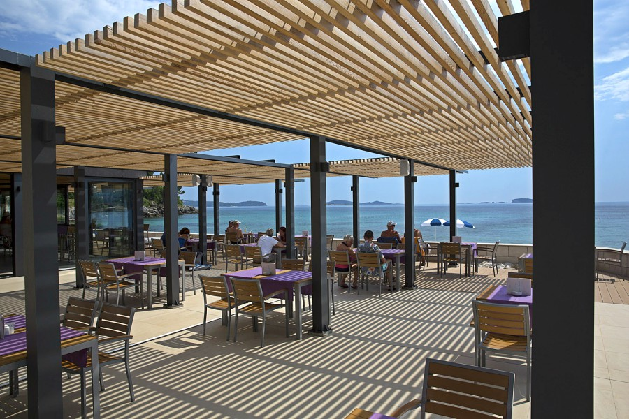Oleander Restaurant & Beach Bar, Mlini Bay, Dubrovnik Riviera TH