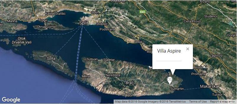 villa-aspire-map-selca-near-sumartin-brac-island