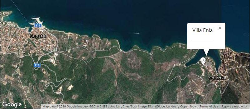 villa-enia-map-splitska-island-of-brac