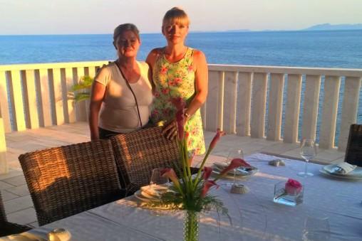 Chef Hire Dinner Party at Villa Zavalia Korcula TH