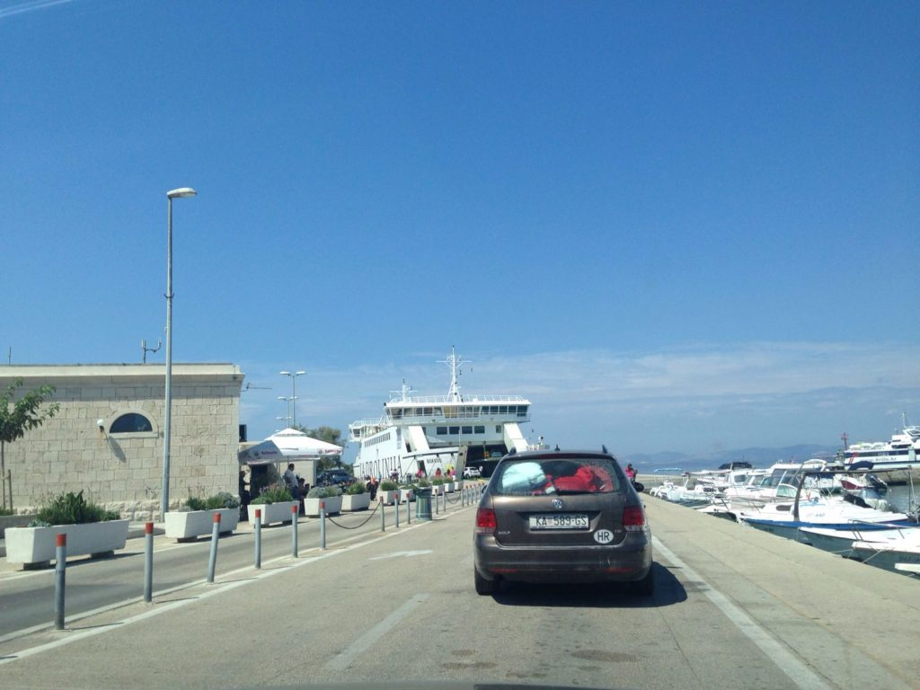 Car Ferry from Supetar Port, Brac Island (2)