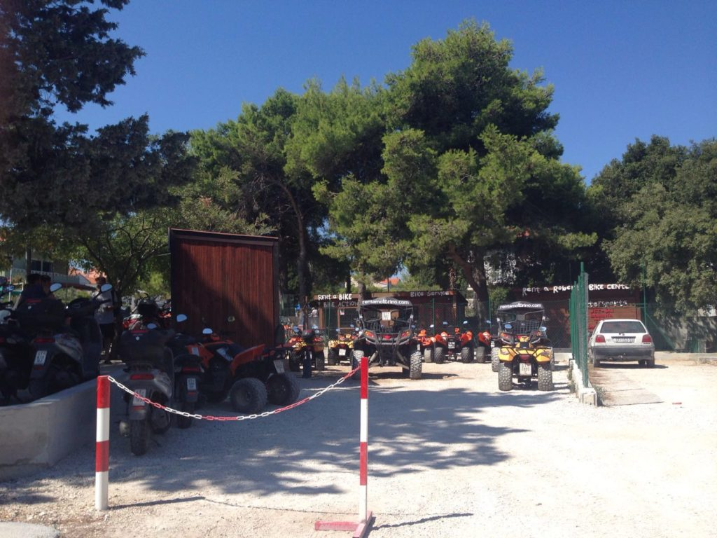 Quad Biking, Supetar Bay, Brac Island