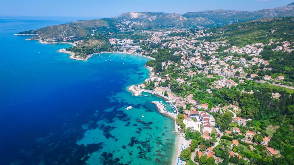 Mlini Bay, Dubrovnik Riviera (Croatia Gems Ltd) (13) Aerial
