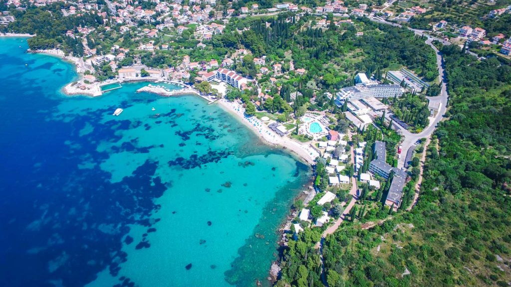 Mlini Bay, Dubrovnik Riviera (Croatia Gems Ltd) (18) Aerial