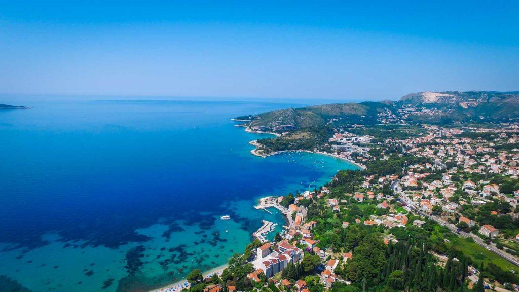 Mlini Bay, Dubrovnik Riviera (Croatia Gems Ltd) (9) Aerial