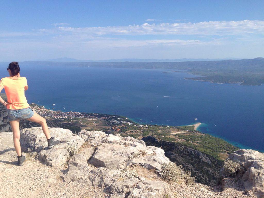 Vidova Gora to Zlatni Rat, Brac Island (1)