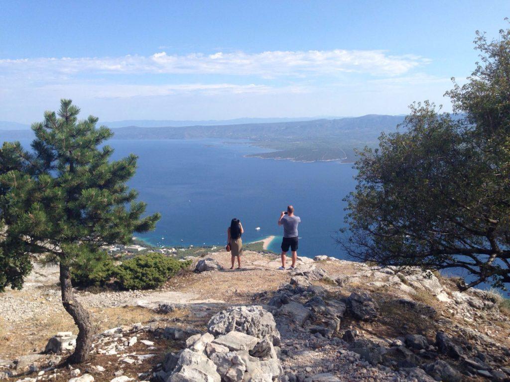 Vidova Gora to Zlatni Rat, Brac Island (2)
