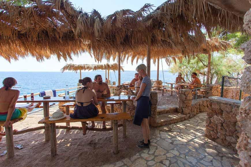 beach-bar-adriatic-mokalo-bay-orebic-peljesac-peninsula-2