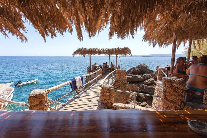 beach-bar-adriatic-mokalo-bay-orebic-peljesac-peninsula-4