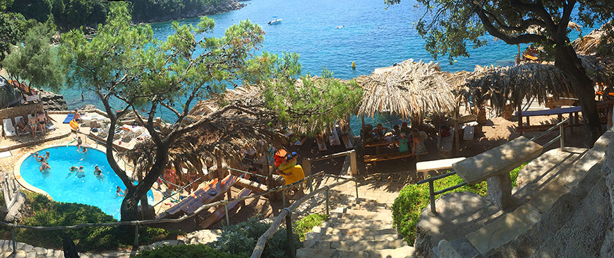 beach-bar-adriatic-mokalo-bay-orebic-peljesac-peninsula