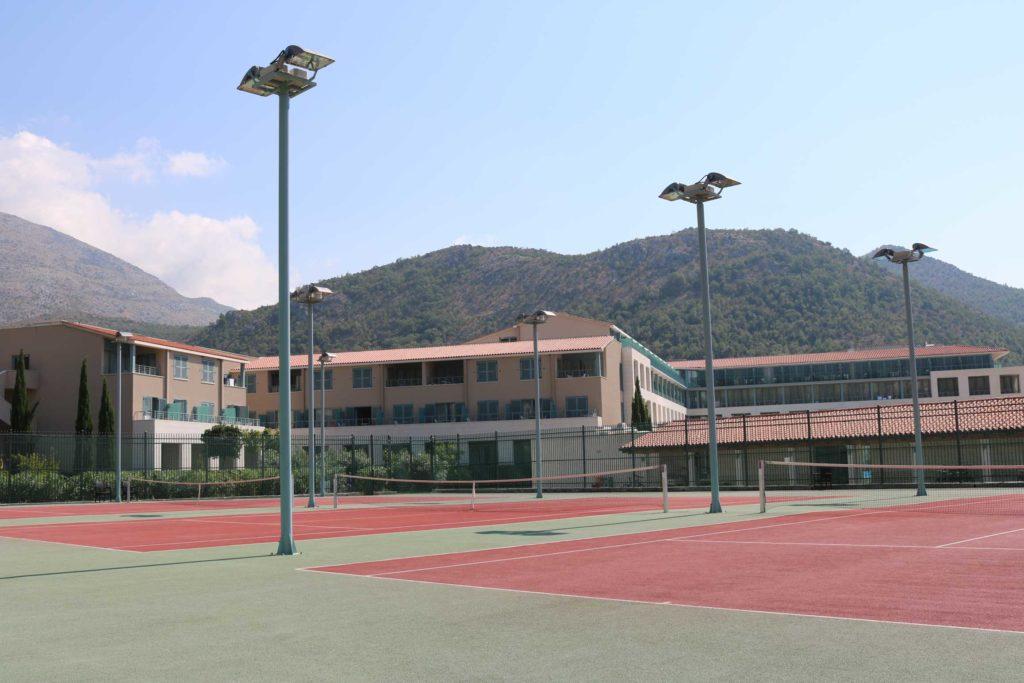 tennis-courts-slano-bay-dubrovnik-riviera