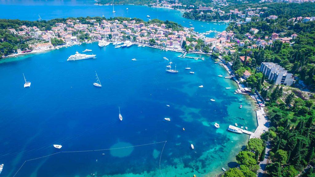 Cavtat Bay, Dubrovnik Riiviera (15) Aerial
