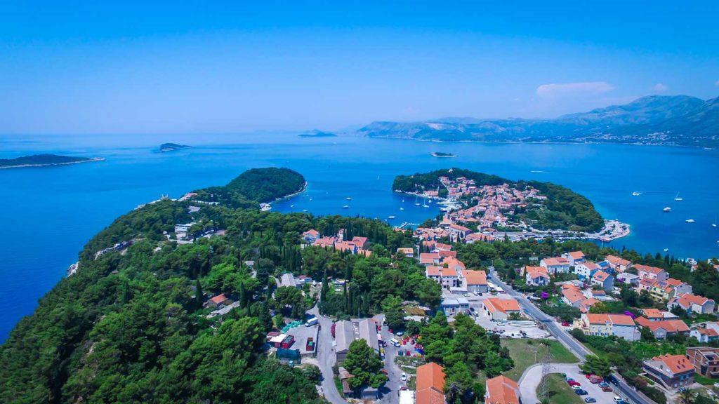 Cavtat Bay, Dubrovnik Riiviera (33) Aerial