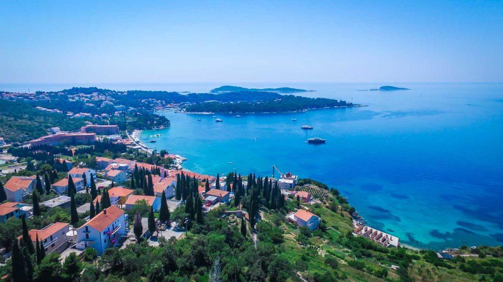 Cavtat Bay, Dubrovnik Riiviera (47) Aerial